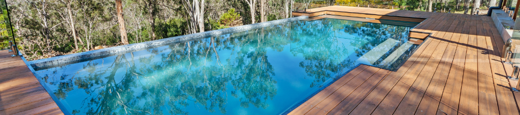 Narellan Pools Above Ground Swimming Pools are perfect for sloping sites